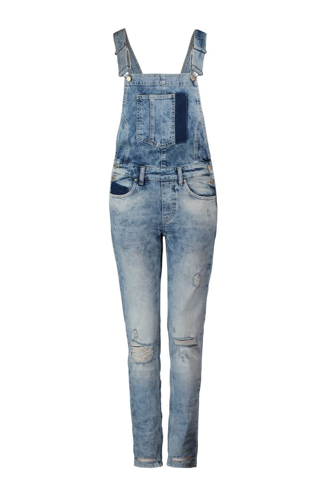 CoolCat Dames Tuinbroek Yflizw17 Denim