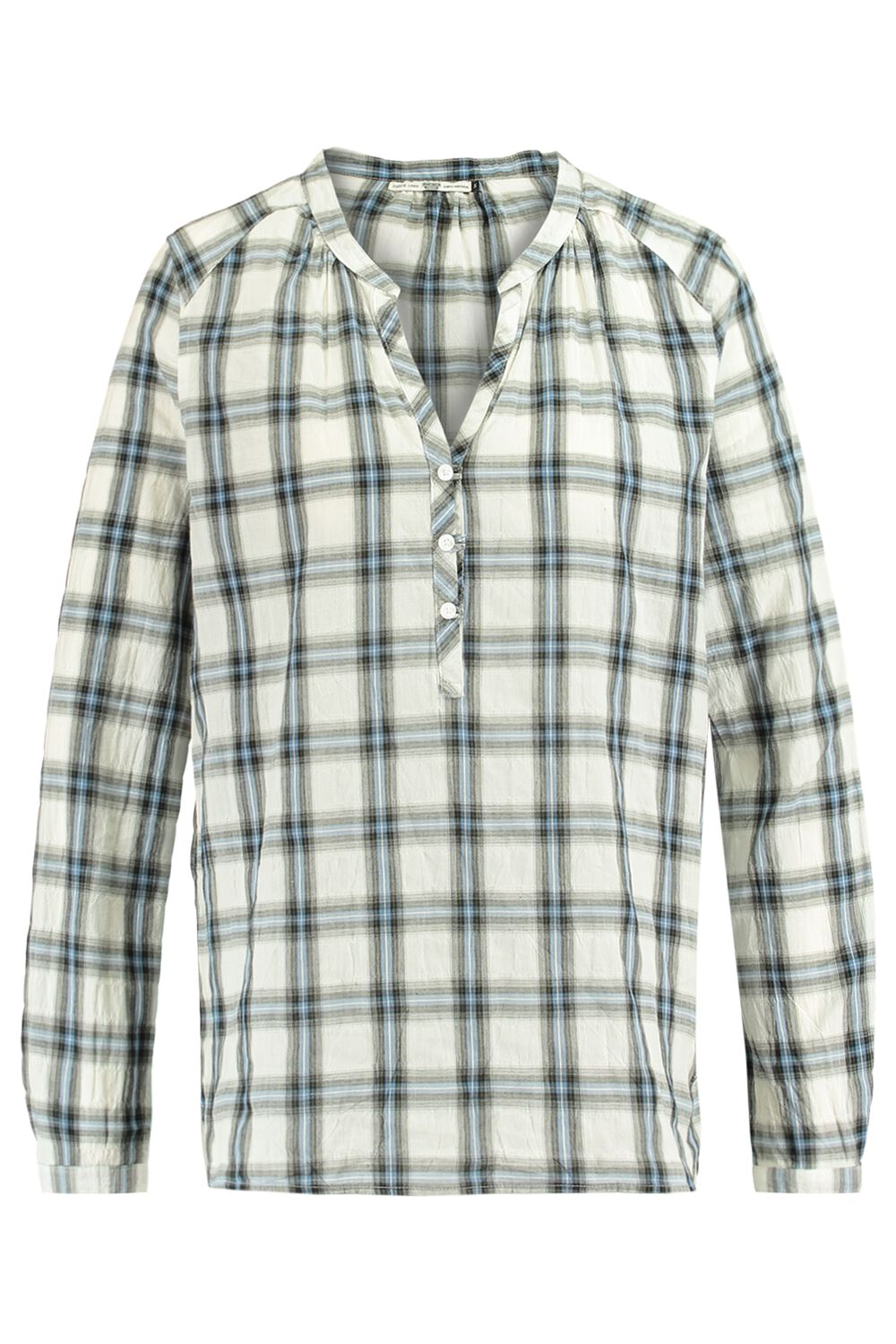 America Today Dames Blouse Beth Blauw