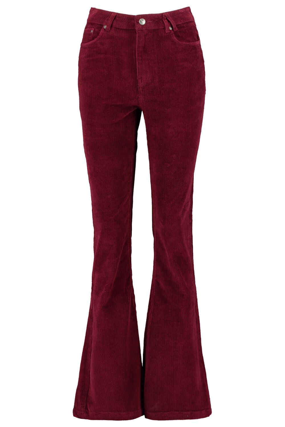 America Today Dames Broek Flared Peggy Rood