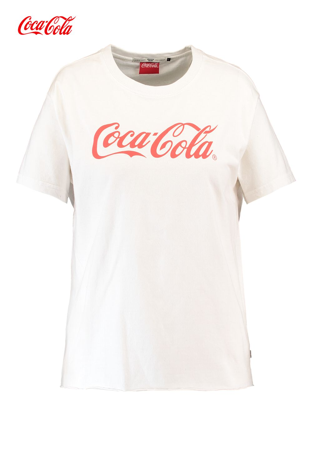 America Today Dames T-shirt Coca-cola Elly Wit