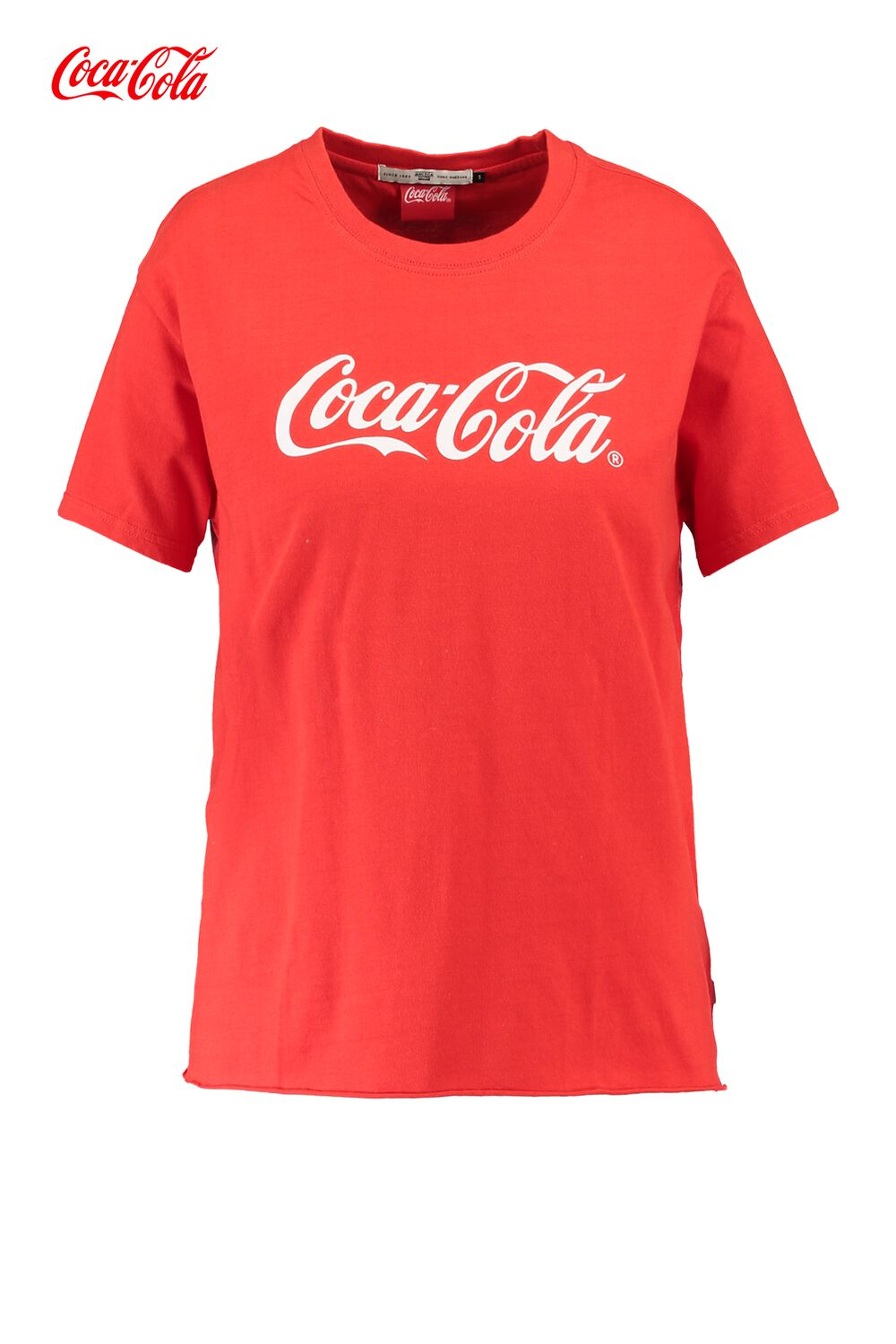 America Today Dames T-shirt Coca-cola Elly Rood