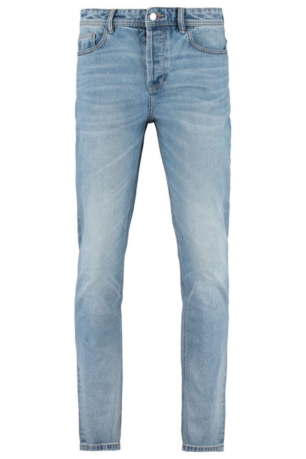 Slim Fit Jeans Tapered Blauw