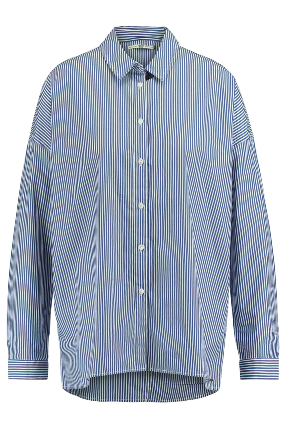 America Today Dames Blouse Brooke Blauw