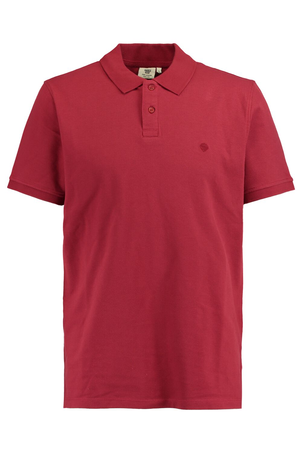 America Today Heren Polo Elton Rood