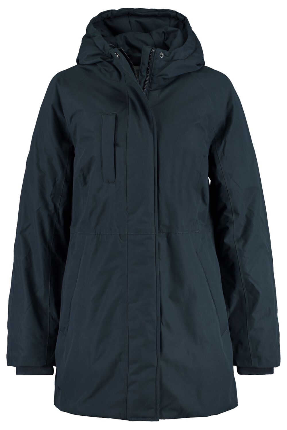Parka Winterjas Gerecycled Polyester Blauw