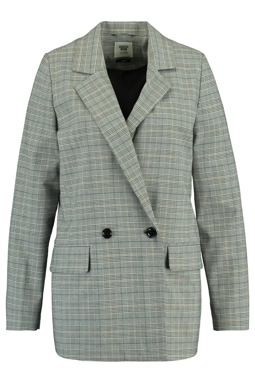 America Today Dames Blazer Hilma Check Multicolour