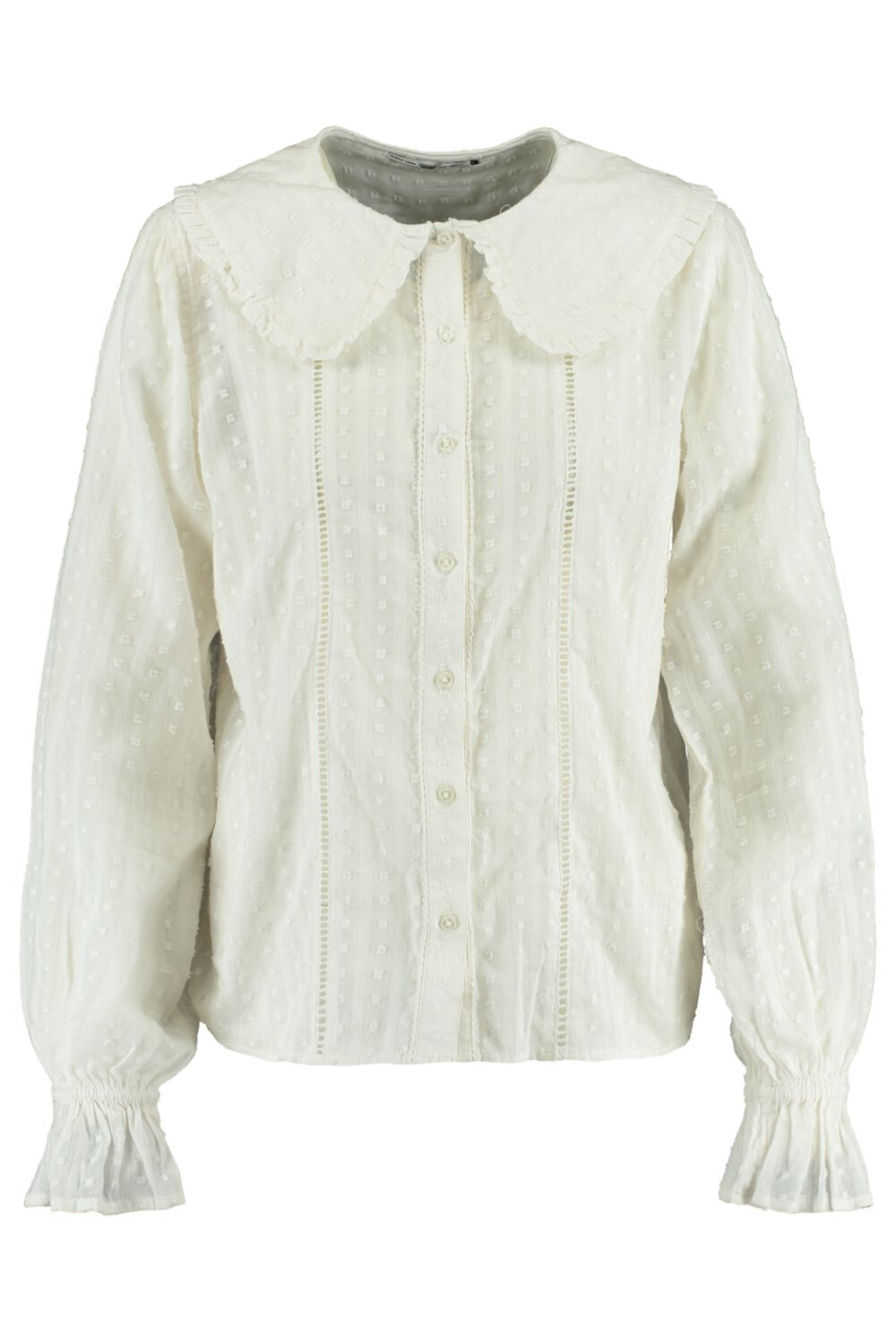 Blouse Ruches Wit