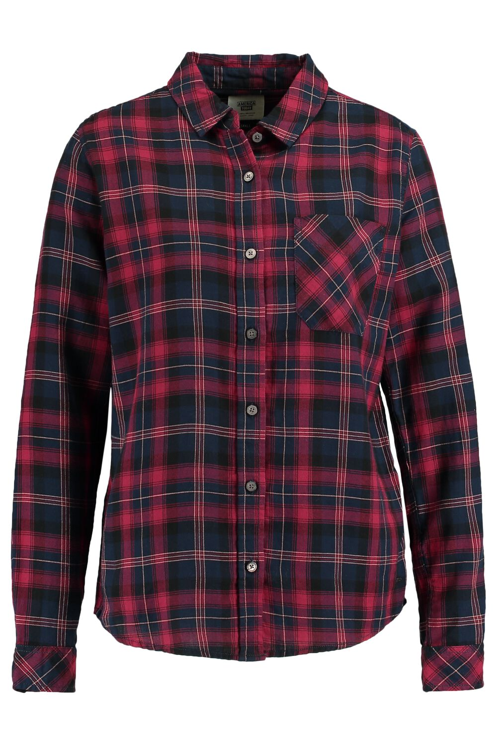 America Today Dames Blouse Britt Rood