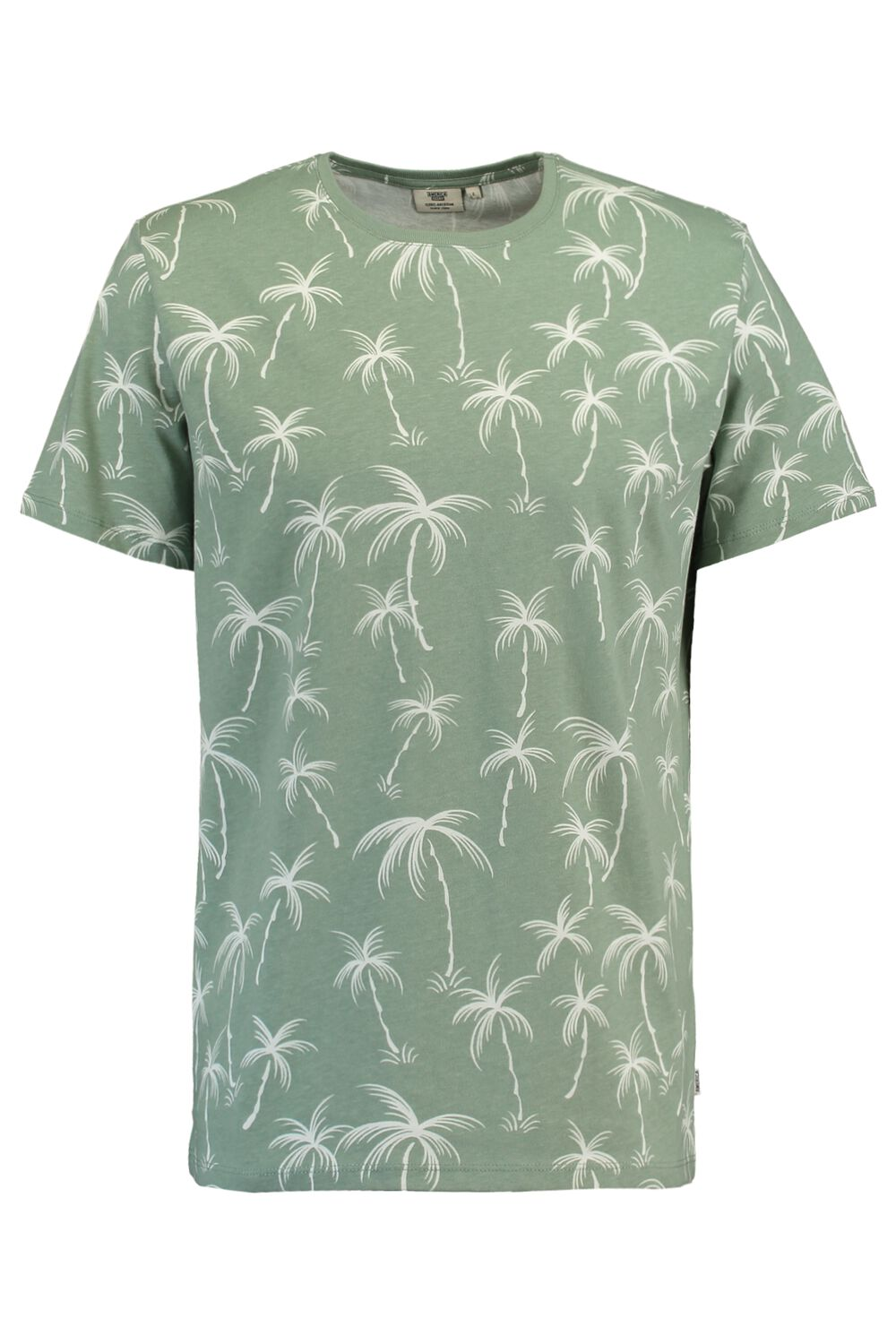America Today Heren T-shirt Edwald Palm Groen