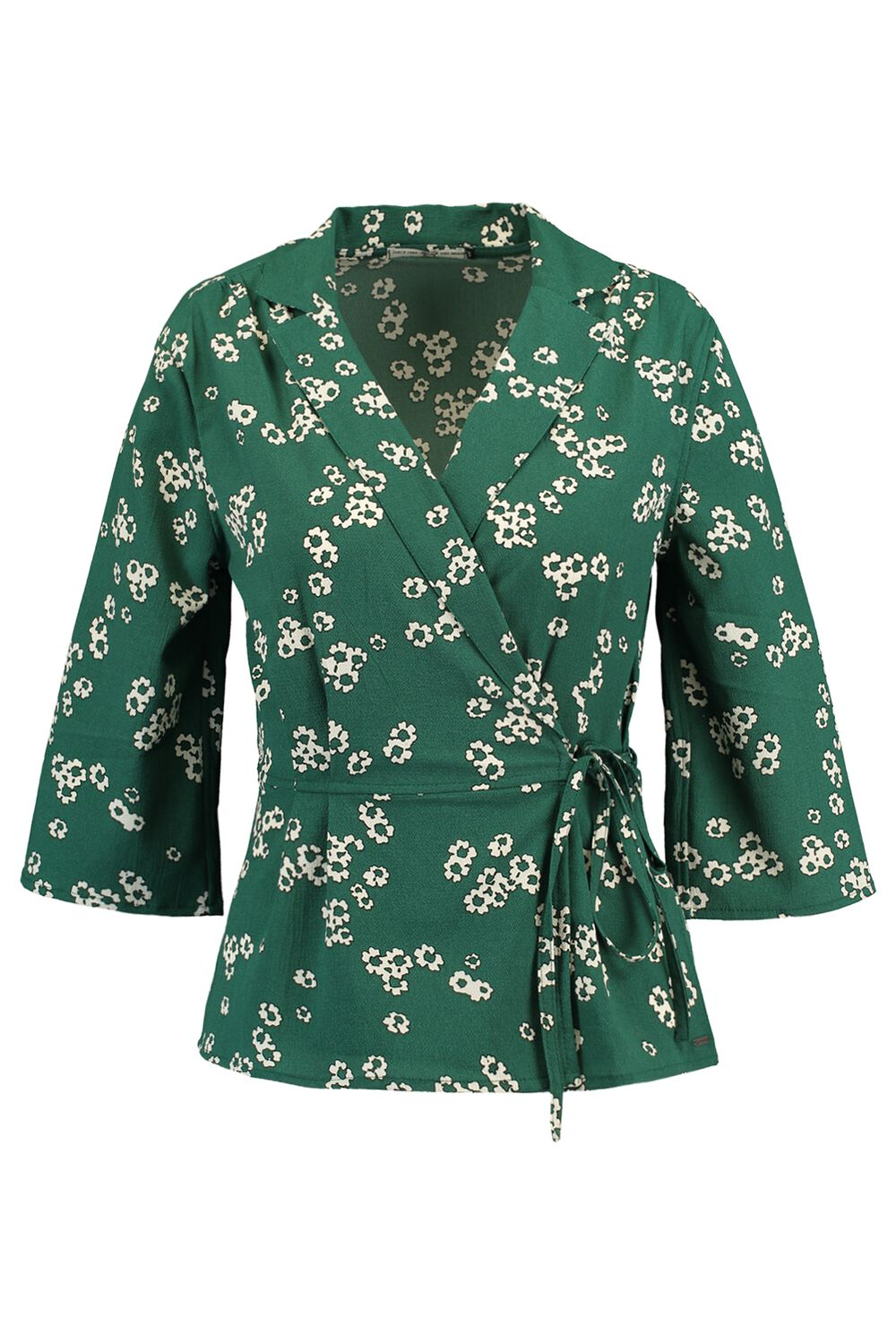 America Today Dames Blouse Brette Groen