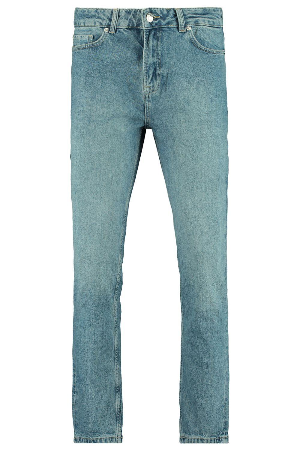 Tapered Jeans Blauw
